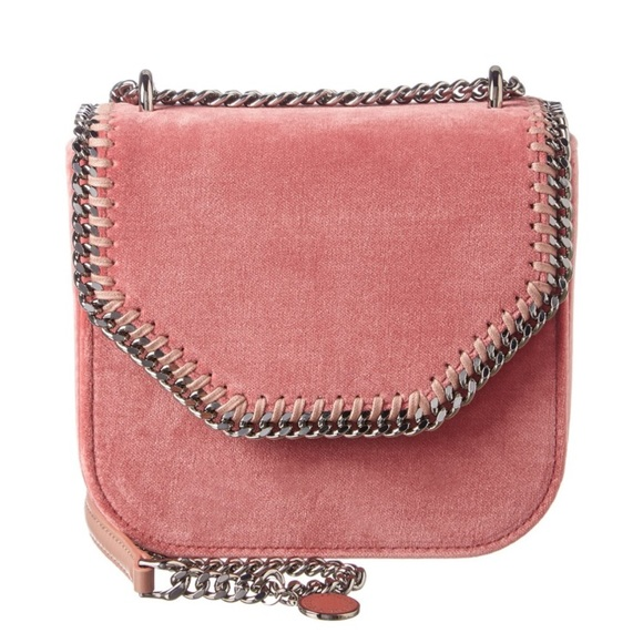 dc19c0676b0 Stella McCartney Bags   Mini Velvet Falabella Shoulderbag   Poshmark